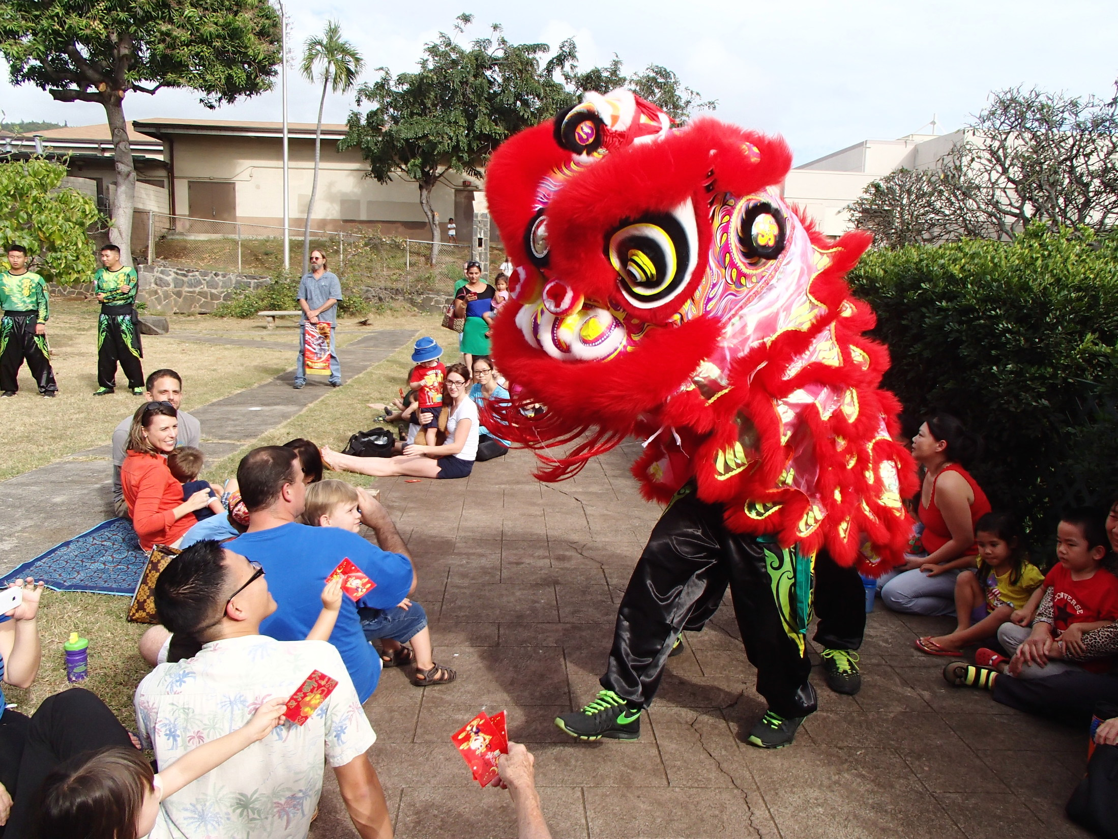 Chinese Lion Dance 2015