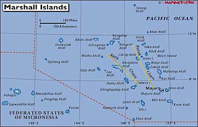 Plants Environments Of The Marshall Islands - Marshall islands map