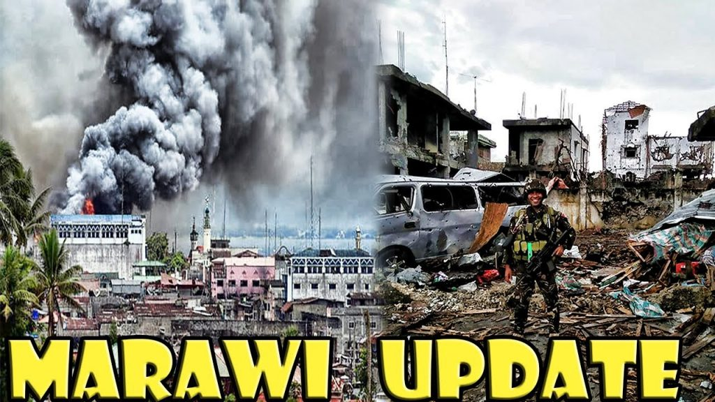 Photo of Marawi City destroyed