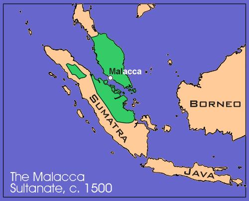 Malacca World Map