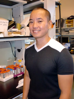 Jason Higa, PhD candidate in Cell and Molecular Biology, 
