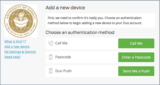 Getting setup for Multi-Factor Authentication (MFA) :: ASK