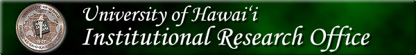 University of Hawaii Institutional Research Office