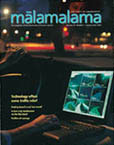 Malamalama cover, January 2002