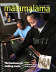 Malamalama cover, May 2008