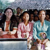 Ann Dunham with Indonesian women