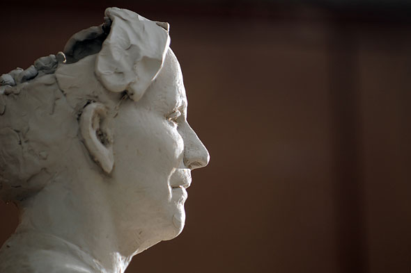 profile of the unfinished bust