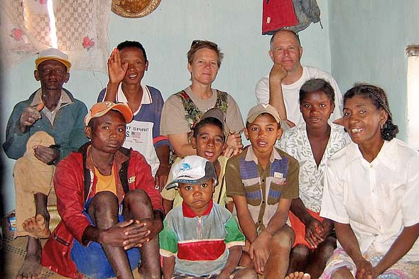 Hawaii classmates visit Madagascar