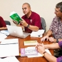 Hawaiian language students