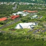 Imiloa Astronomy Center in the University Park of Science and Technology