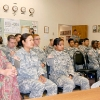cadets in a classroom