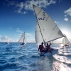 Hawaii sailing team boats