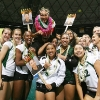 Coach Dave Shoji and team celebrating in 2009