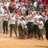 Hawaii softball team in 2010