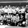 Hawaii women's volleyball team photo in 1983-4