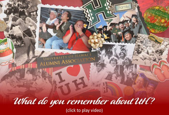 collage of UH photos and memorabilia, click to view slideshow