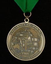 Distinguished Alumni Award medal