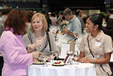 Executive Vineyards fundraising March 12, 2009