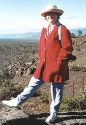 Associate Geophysicist Barbara Keating