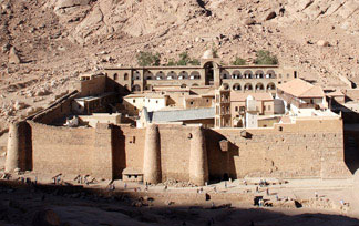 St. Catharines monestery in Egypt