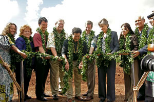 UH West Oahu groundbreaking ceremony