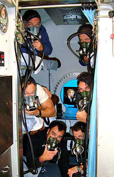 After 10 days underwater, aquanauts must decompress for 18 hours before resurfacing