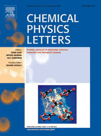 Cover of Chemical Physics Letters journal