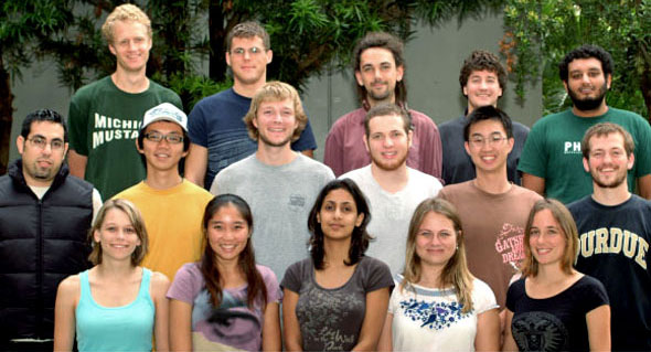 New cohort of students in the Institute for Astronomy