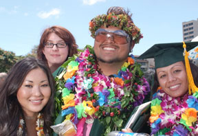 Hawaii college graduates