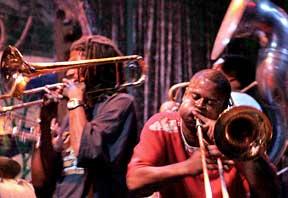 jazz band brass
