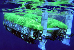 The remotely operated vehicle Nereus; photo by Tom Kleindinst, Woods Hole Oceanographic Institution