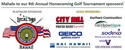 UHAA golf sponsors