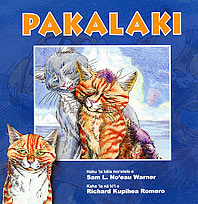 book cover with title Pakalaki