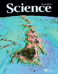 Science magazine cover
