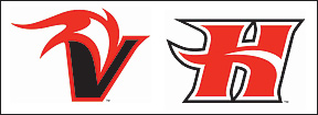 new UH Hilo Vulcan logos