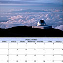 calendar with photo art