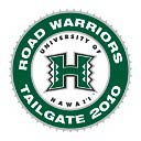 Road Warrior tailgate emblem