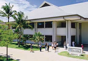Maui College campus building
