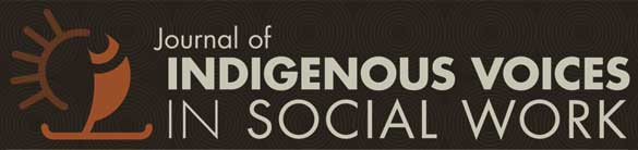 Journal of Indigenous Voices in Social Work banner