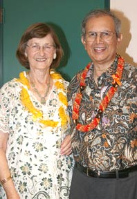 Ulrike and Toufiq Siddiqi