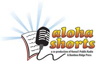 logo for Aloha Shorts program on Hawaii Public Radio