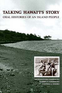 book cover of Talking Hawaii's Story: Oral Histories of an Island People