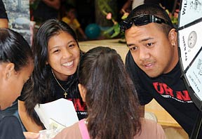 community members at UHAA day