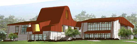 artists rendering of a new building