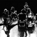 disabled and abled dancers publicity still for the Los Angeles production of Wheels