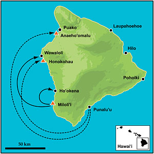 fish reserves map Big Island of Hawaii