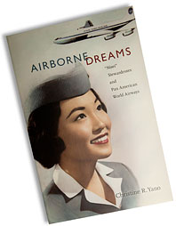 book cover airborne dreams by Christine Yano