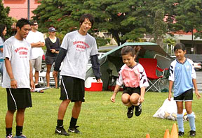 University of Hawaii at Hilo men's soccer team hosts kids clinic ...