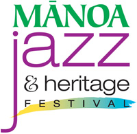 Manoa Jazz and Heritage Festival logo