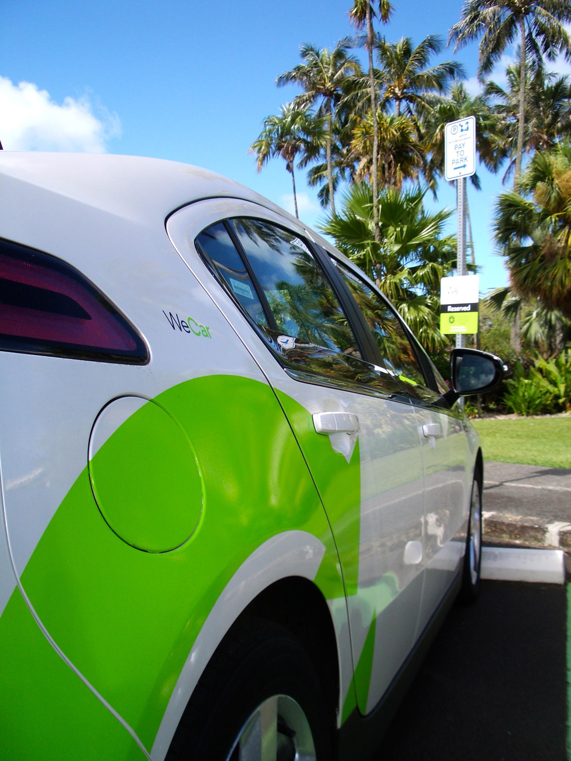 Mānoa: WeCar By Enterprise Car-sharing Comes To UH Manoa